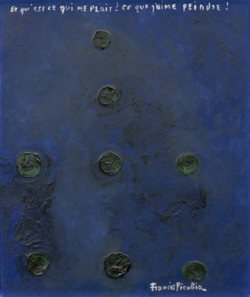 Francis Picabia, Points, 1951