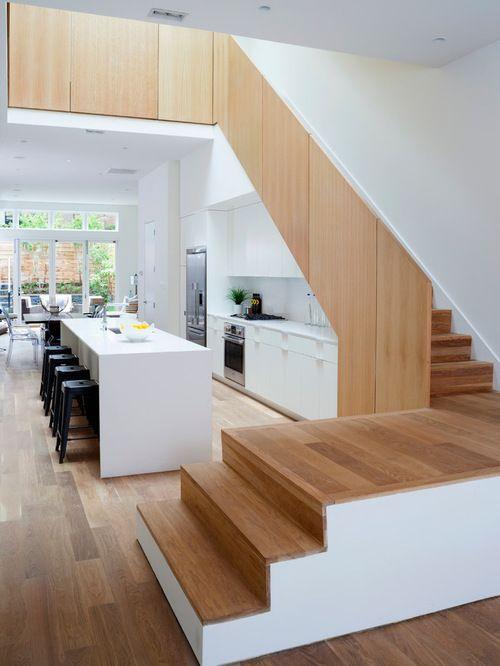 Best Building A Unique Kitchen Design Under Stairs – Q Rumah 400 x 300