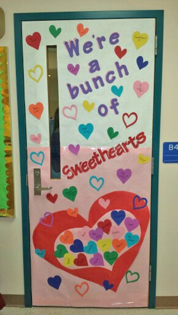 27 Creative Classroom Door Decorations For Valentine S Day School