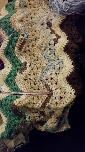 6-Day Kid Blanket – free pattern | 6-day Kid Blanket - Free Crochet ...
