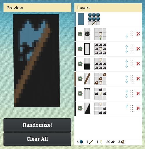 Axe Banner Minecraft Banner Designs Minecraft Blueprints Minecraft Banners