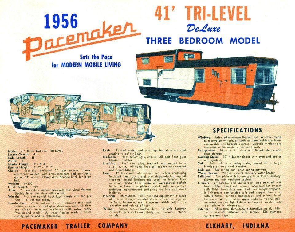 Tri Level Vintage Trailer Brochure
