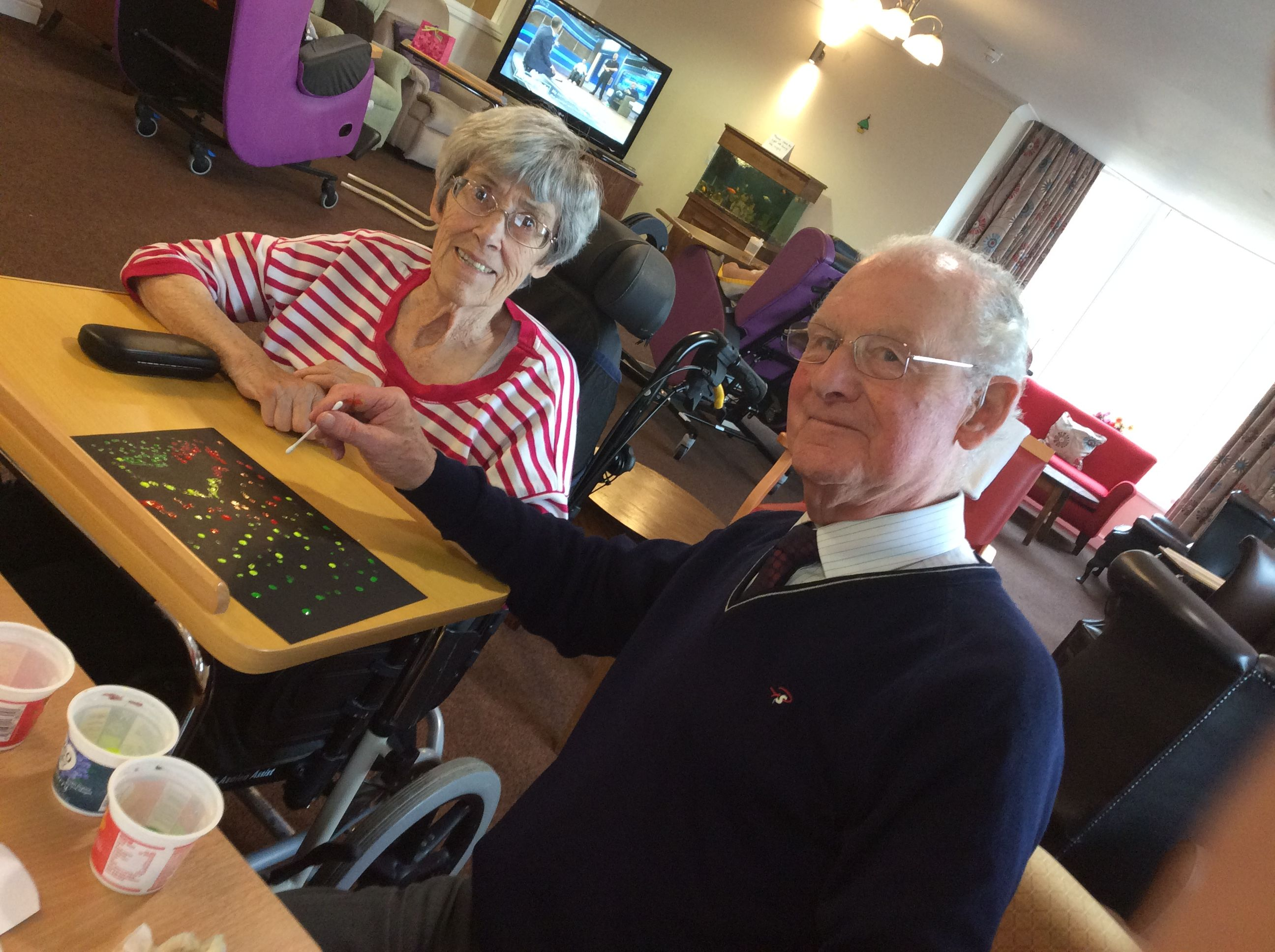 Getting into the Halloween spirit - Springhill Care Home