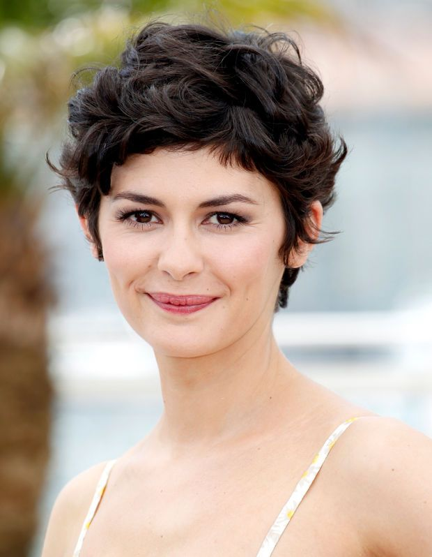 The Best Haircuts You Dont Need To Straighten Audrey Tautou