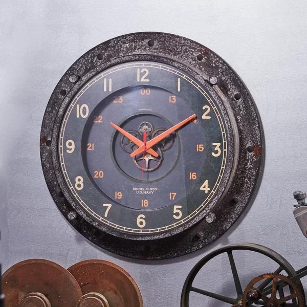 Pendulux Control Room 20 Wall Clock Perigold Wall Clock Clock Industrial Clock Wall