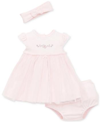 2f1fc0c021c7 Little Me Baby Girls 2-Pc. Headband   Dress Set - Pink 12 months in ...