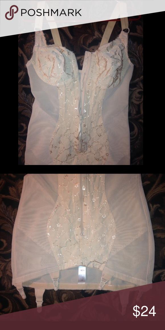 a80a285549 Feminine Nude Shaper Sexy body slip in like new condition Miss Mars  Intimates   Sleepwear Shapewear