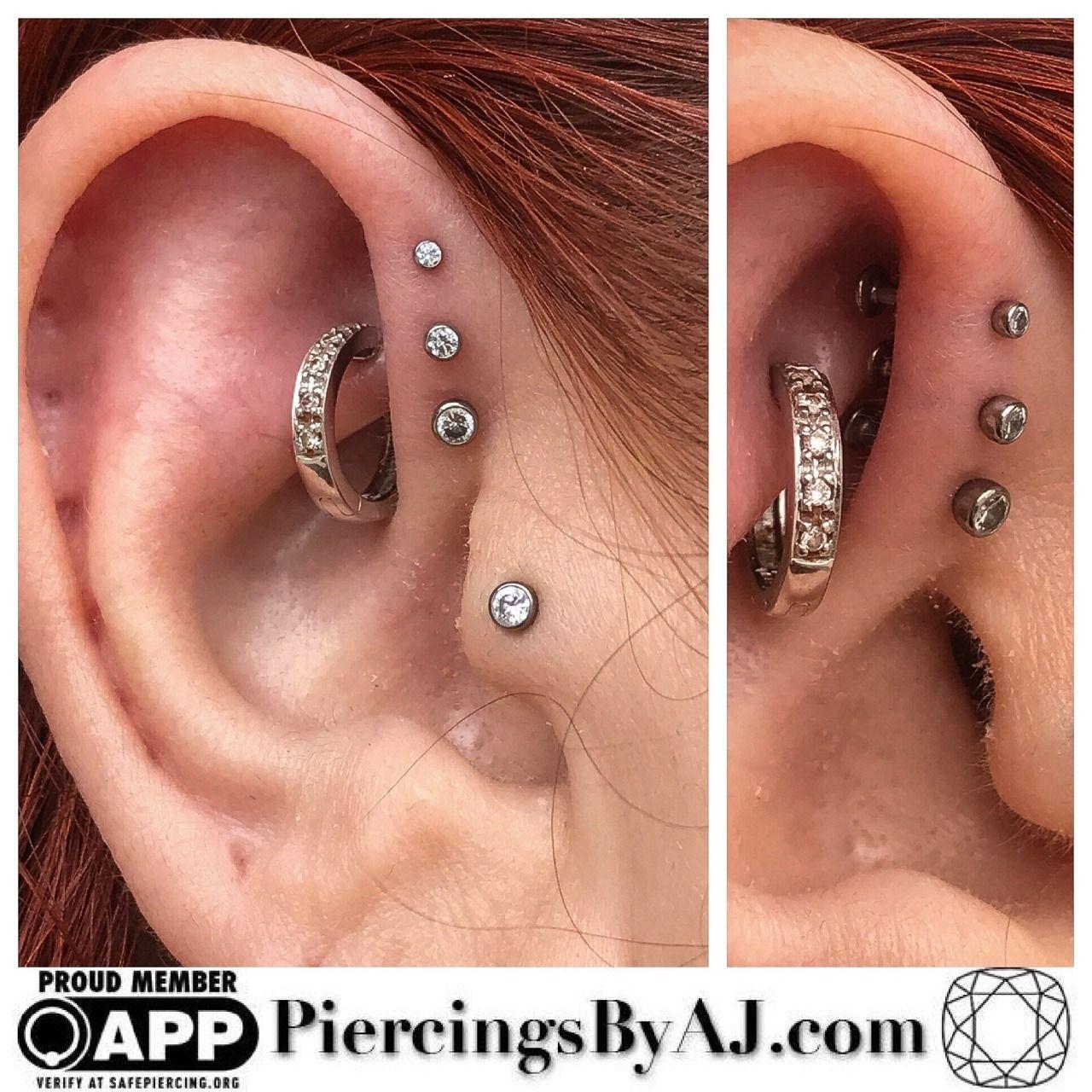 Piercing ideas body  Piercings By AJ  Photo  Ear Piercing  Pinterest  Piercings