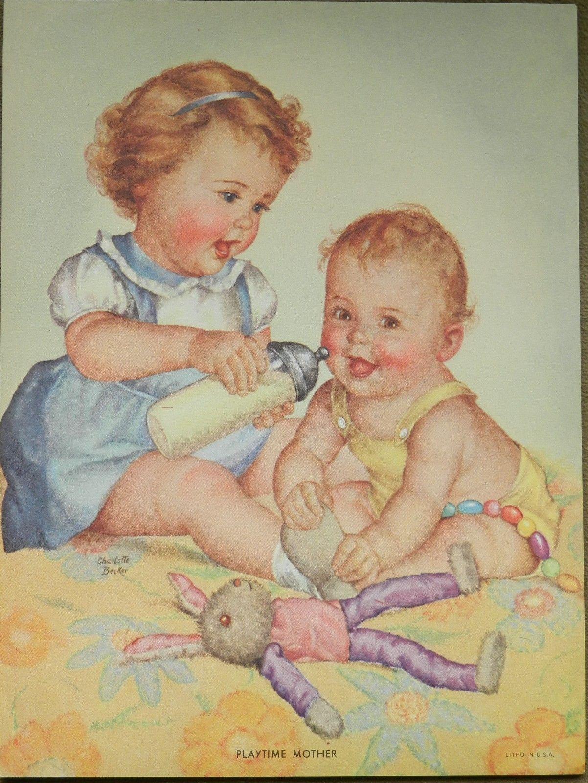Charlotte Becker - Playtime Mother (1202×1600)