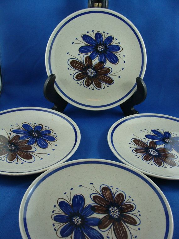 Stavangerflint Small or Side Plates Vintage by ElodieVintageHome, $24.00