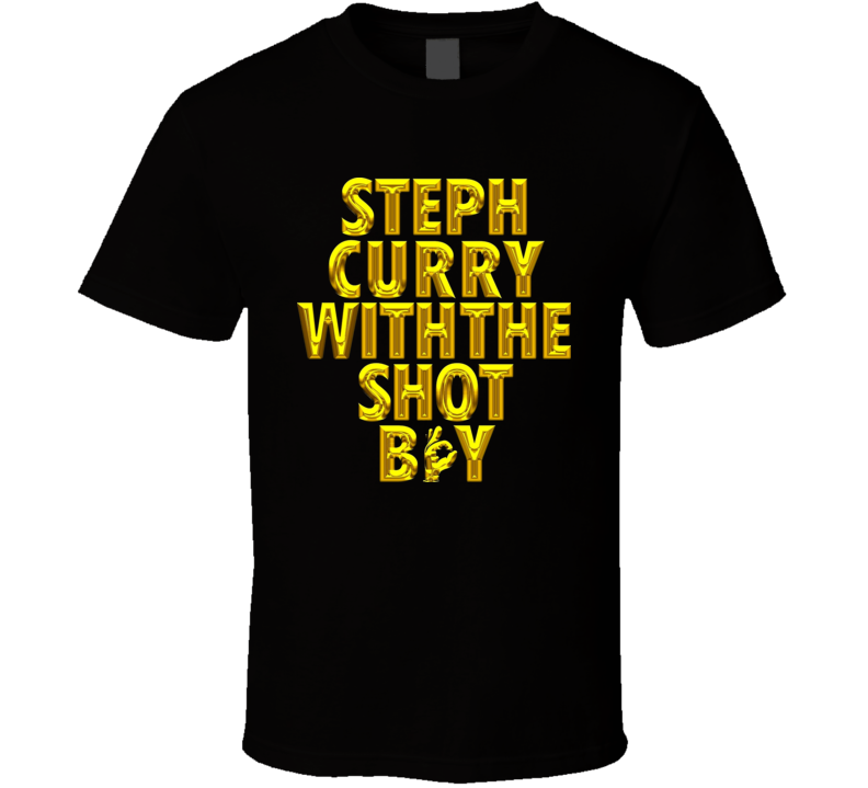 los angeles d27eb 9afa7 Stephen Curry With the shot boy T Shirt | Steph Curry and ...