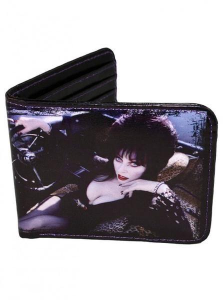 "Women's ""Elvira"" Wallet By Kreepsville 666 (Black)"