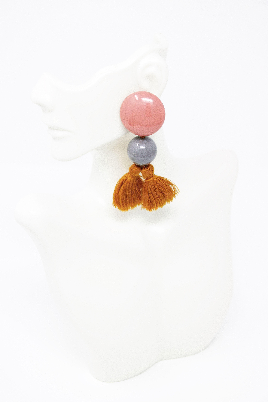 Awa Earrings in 2020   Raw color, Earrings, Awa