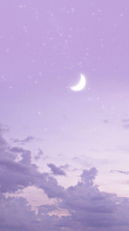 Moonlight Purple Wallpaper Iphone Aesthetic Wallpapers Sky Aesthetic