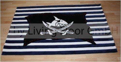 Böing Carpet Sh 2367 02 Teppich Capt N Sharky Flagge