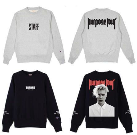 b6a8b4e35 Exclusive First Look: Justin Bieber's 'Purpose' Tour Merch ...