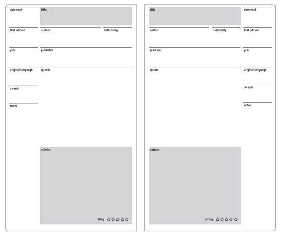 moleskine: MSK templates