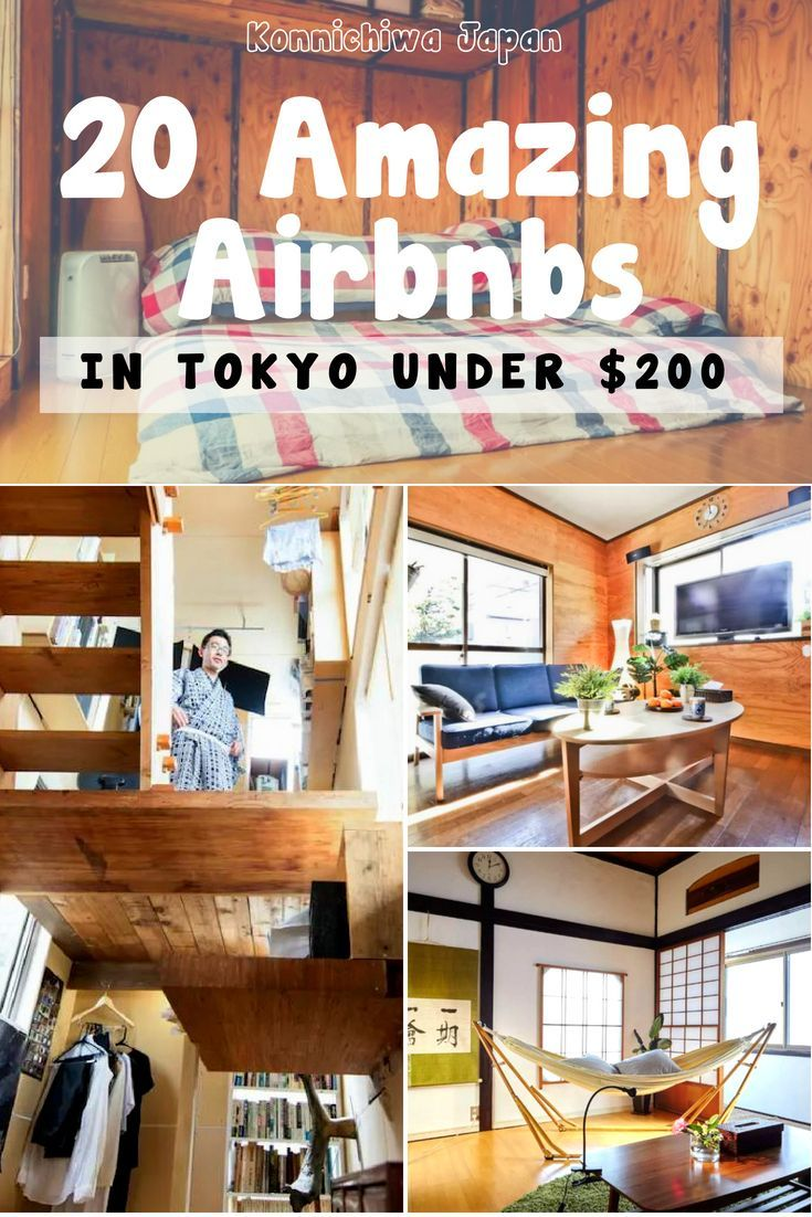 20 Amazing Airbnbs in Tokyo for under $200 #tokyo #japan #airbnb #travel #budgettravel