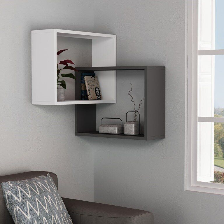 Milo Modern Wall Shelf In 2020 Modern Wall Shelf Unique Wall Shelves Corner Decor