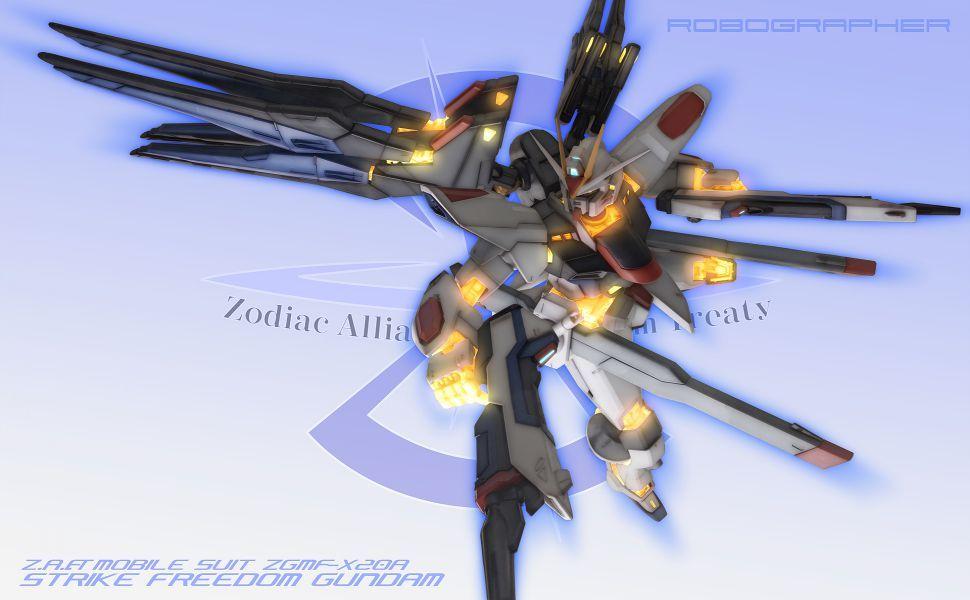 Gundam Seed Destiny Strike Freedom HD Wallpaper