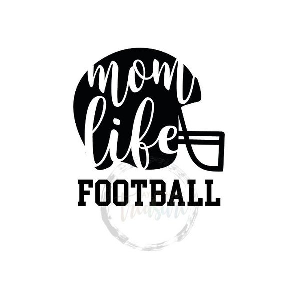 Football Aunt Vinyl Decal Sticker