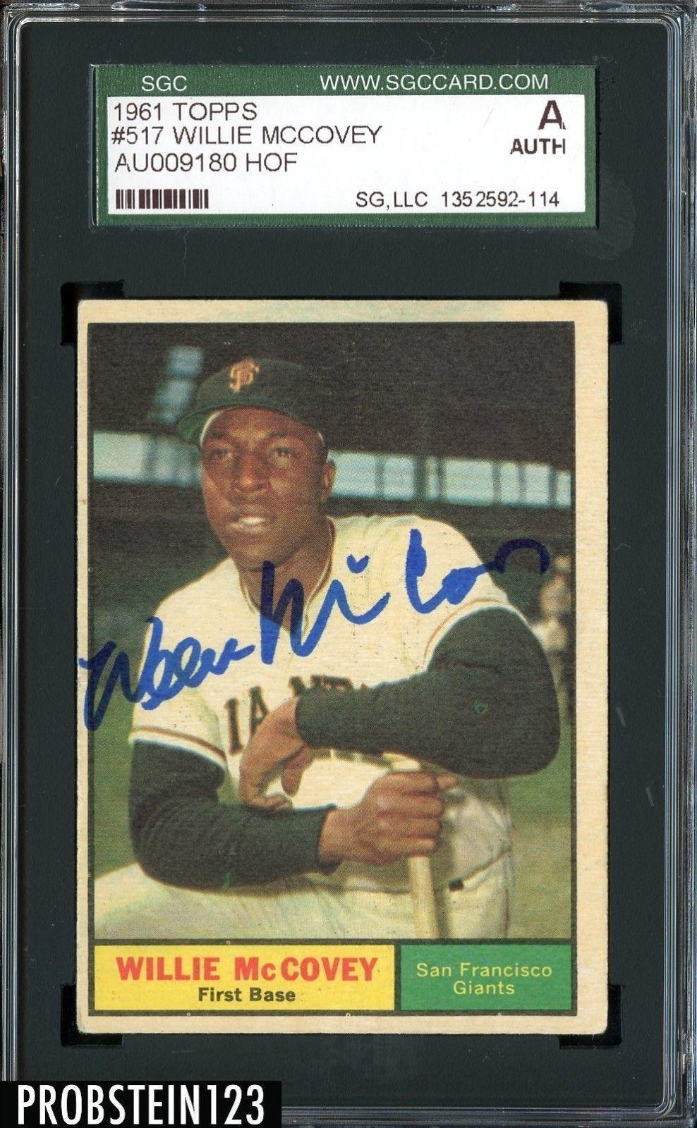1961 topps baseball cards baseball card values willie