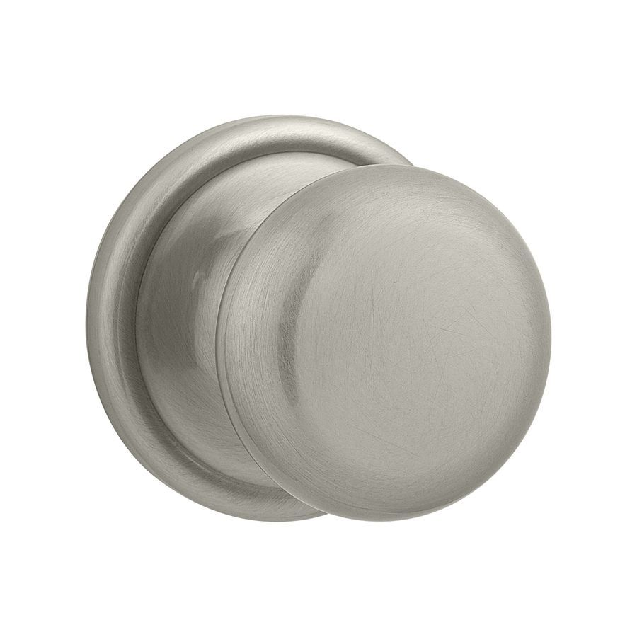 The Kwikset Hancock Satin Nickel Hall Closet Knob Features An Adjustable  Latch To Match With All Standard Door Preparations. It Is Suitable To Fit  With Door ...