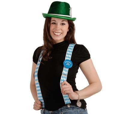 Dress like you belong there! In these Oktoberfest- Suspenders you will be the…