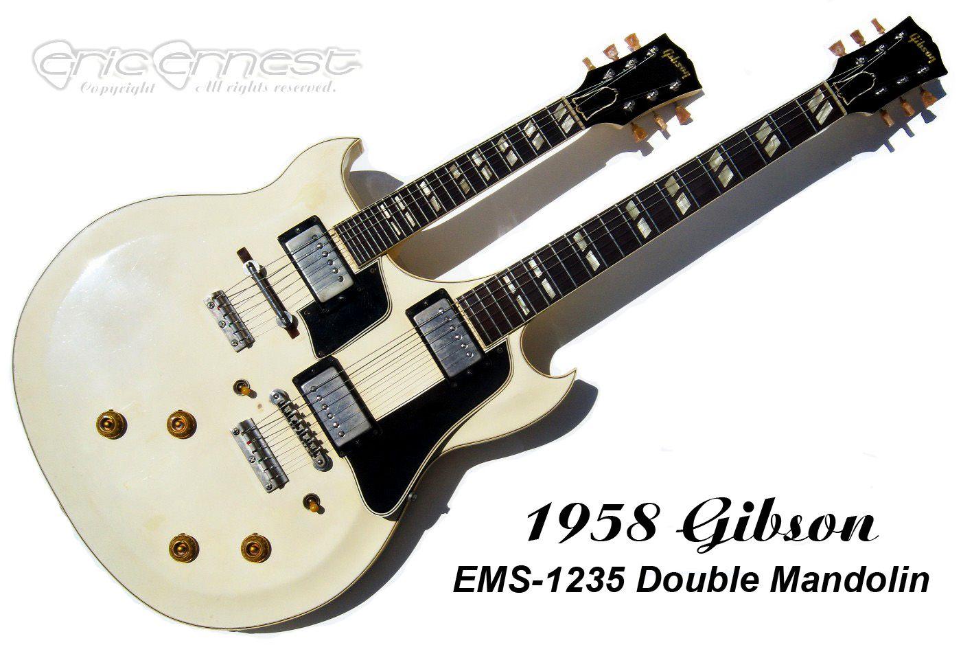1958 Gibson Ems 1235 Double Mandolin Guitar Dou Vintage Rare And Flying V Building Or Something Similar Page 8 Mylespaulcom Neck
