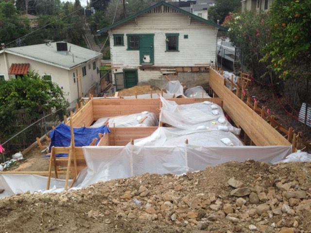 Trenches and forms, 2015. LA, CA