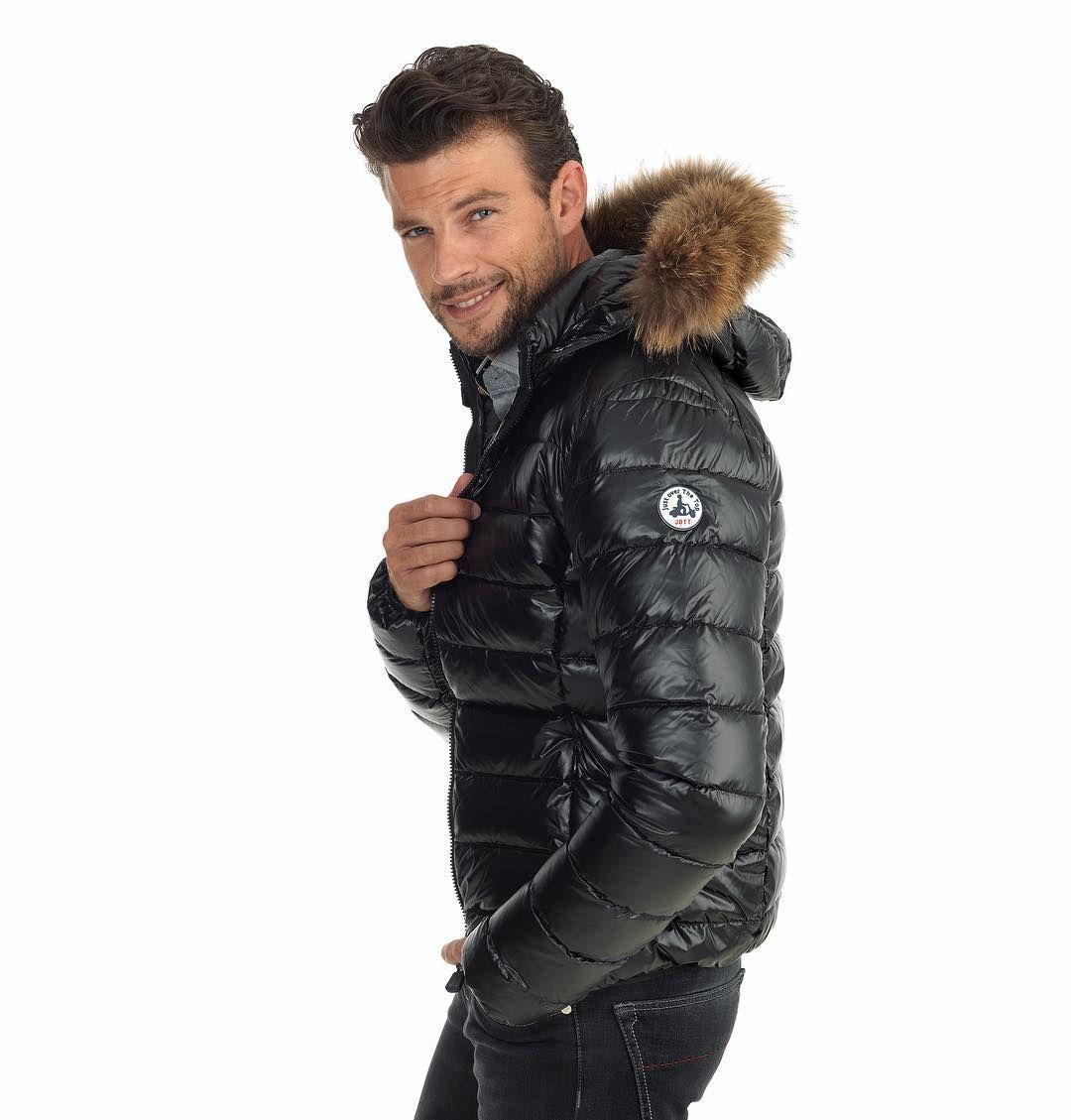 f047f25b7831 daunenjacke down jacket downjacket shiny fetish jott   black down ...