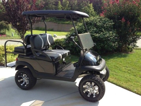 Golf Cart Chuck Our New Perfect Plan Lifted Golf