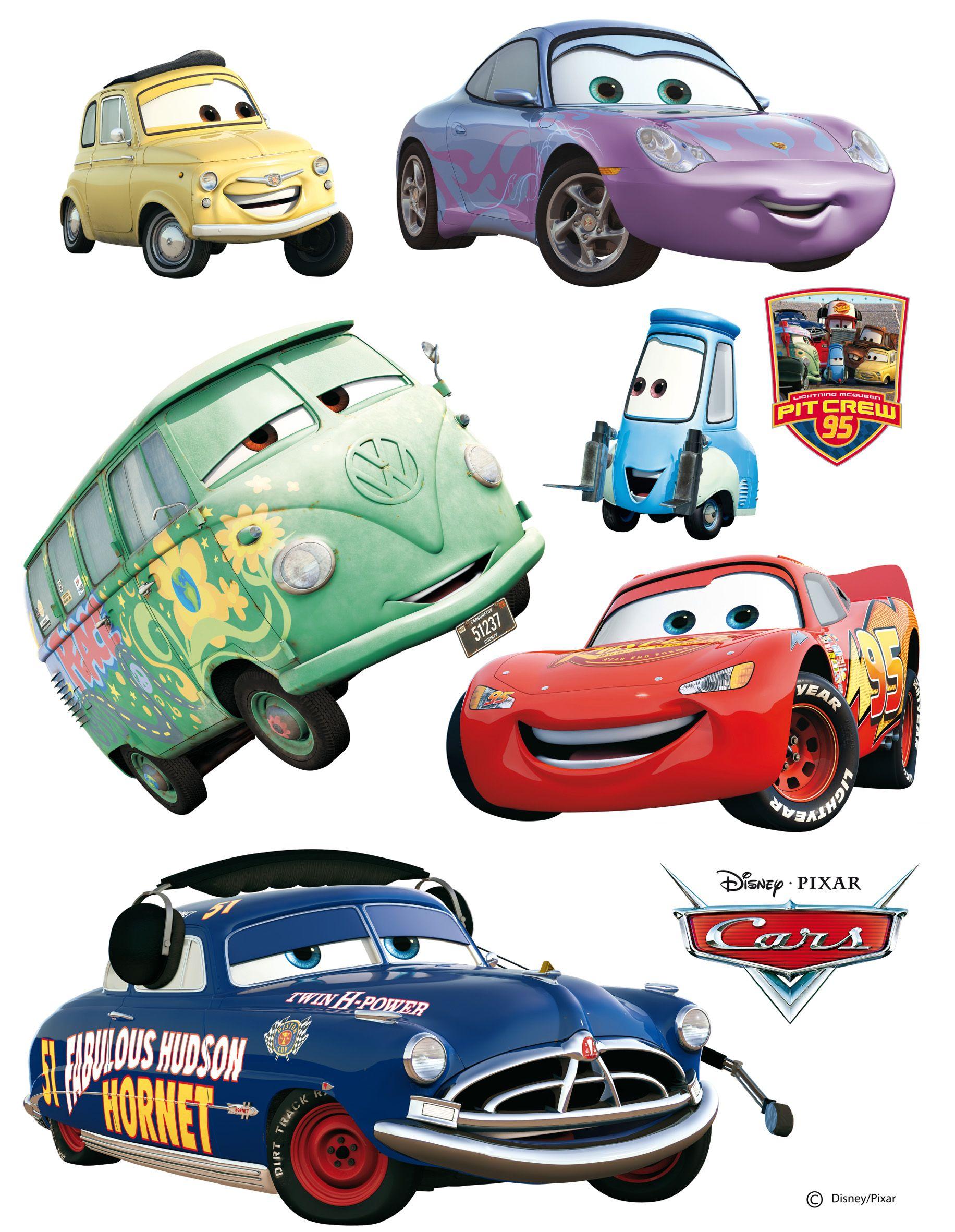 Cars Pitcrew 95 Deze Cars Muurstickers Zitten Op Een Groot Vel Van 65 X 90 Cm En Bevat In Totaal 8 Grote Muurstickers Cars De Disney Disney Cars Sticker Decor [ 2362 x 1832 Pixel ]