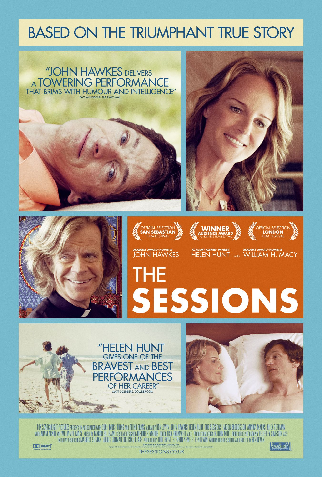The Sessions (2012) The sessions movie, Helen hunt, Film