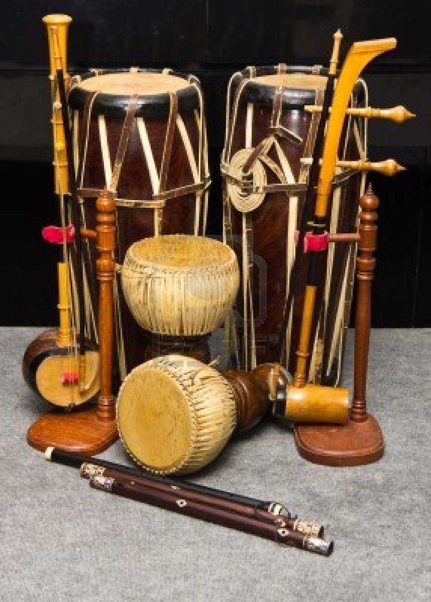 Stock Photo | What To Bring | Old musical instruments