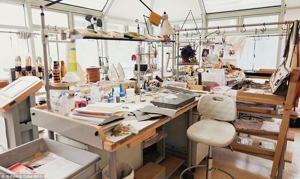 How a Hermès handbag is made  Photographs reveal French fashion house s  design secrets  6acfaae7741ec
