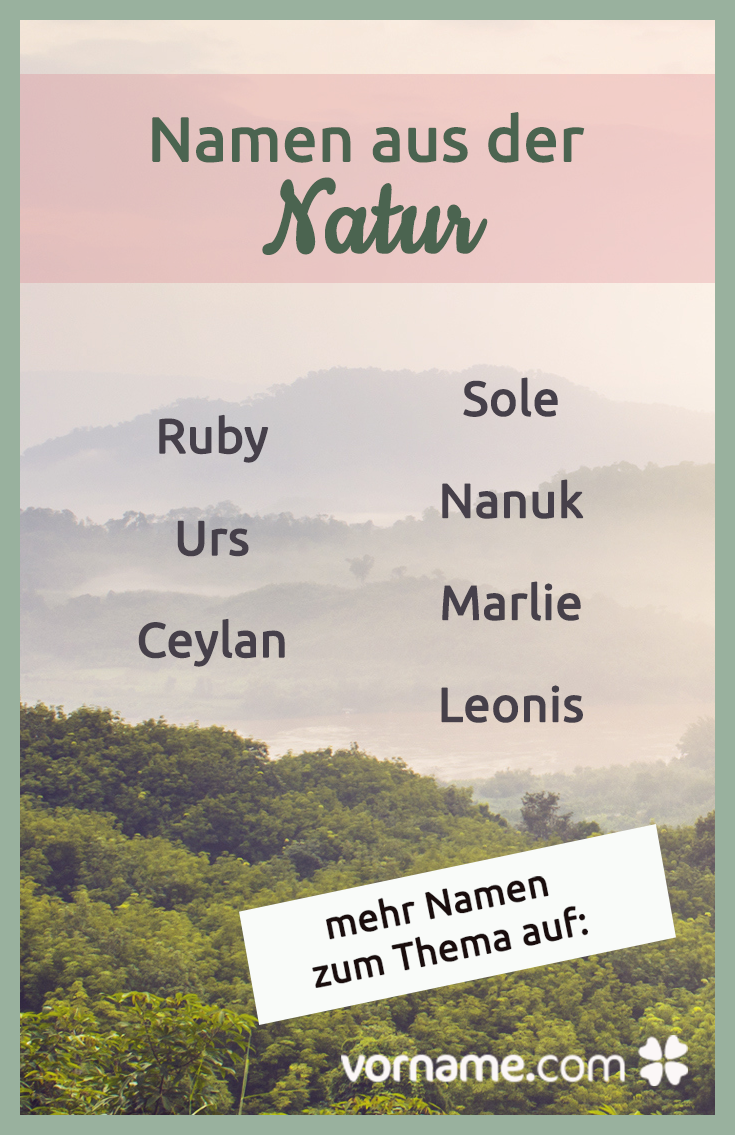 Namen Mit Bedeutung Natur