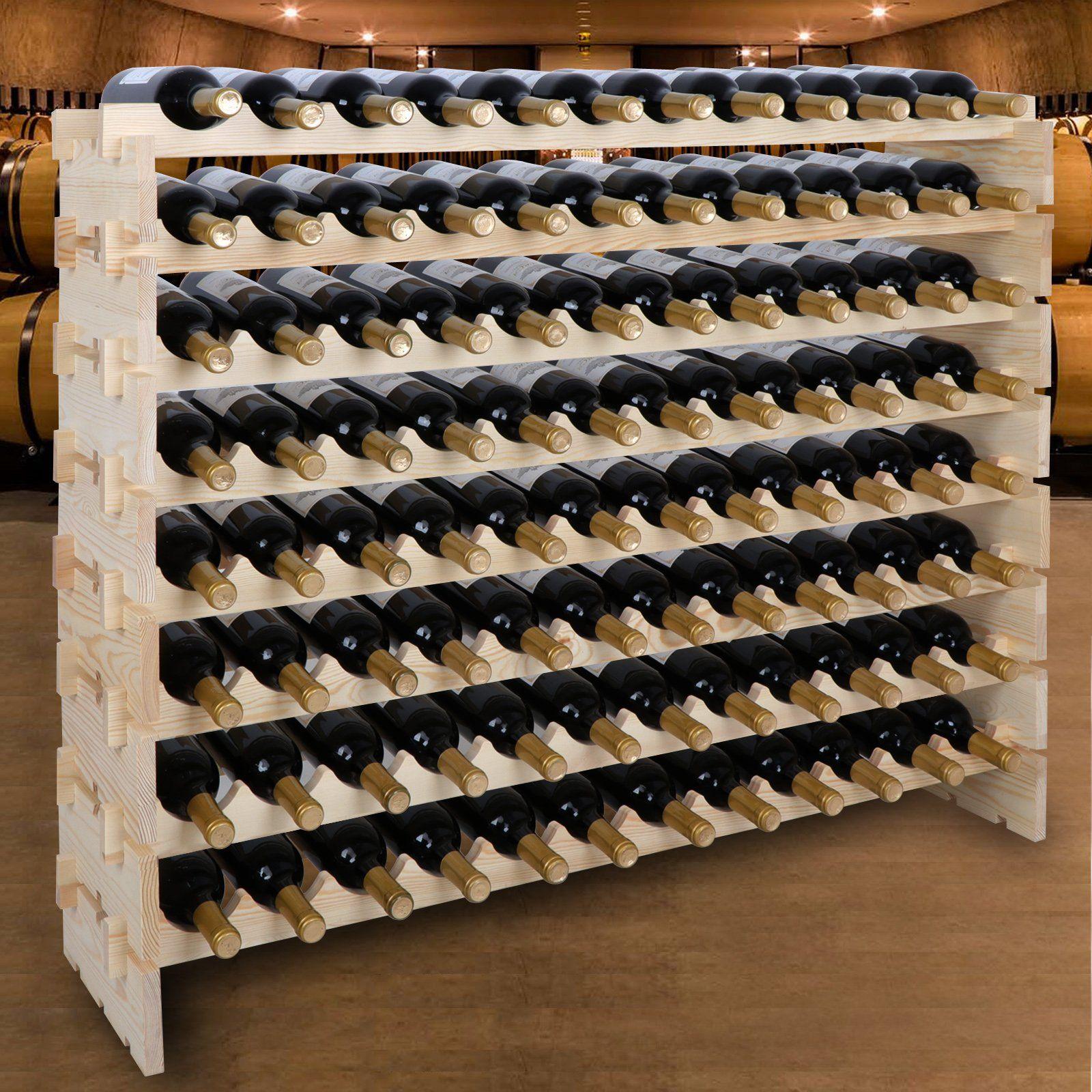 Diy Large Wine Rack
