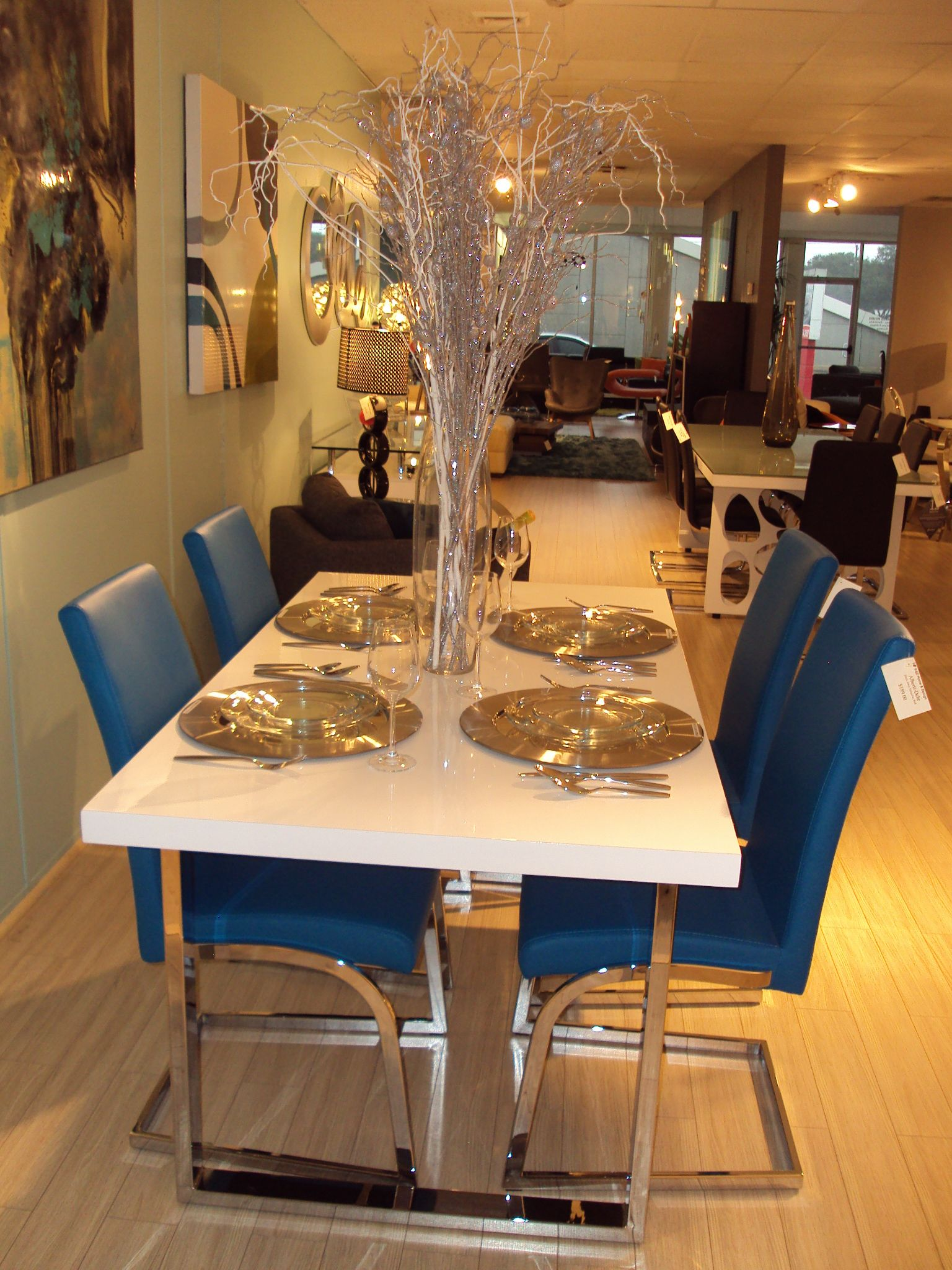 Contemporary Holiday Decorating At Kd Home And Design Studio Www