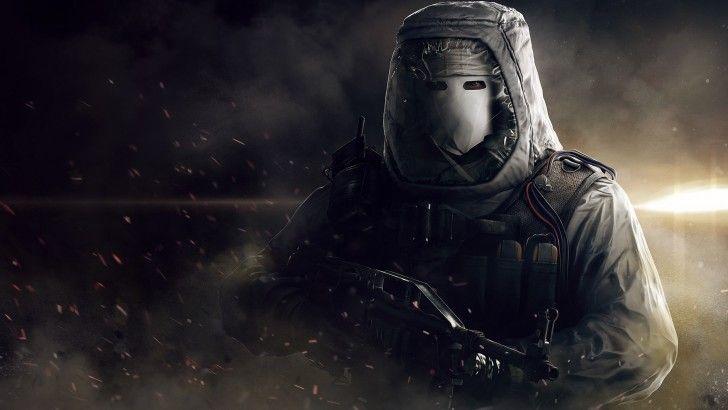 Download Rainbow Six Siege Game Terrorist White Mask