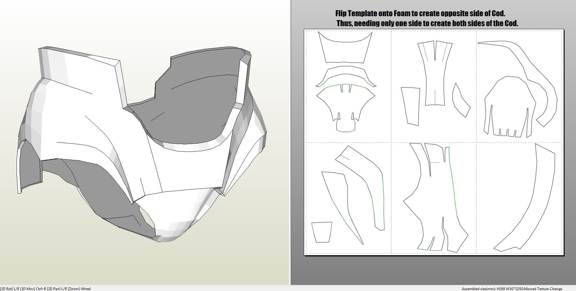 Papercraft .pdo file template for Iron Man - Mark 4 & 6 Full Armor + ...