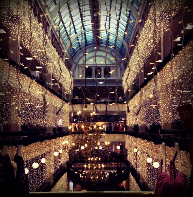 Glasgow At Christmas... House Of Fraser
