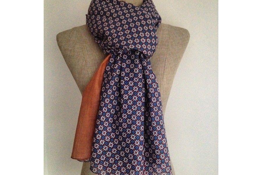 ba1d3fb1d2f3 Grand et grosse écharpe douce et mode pour homme ou femme, une écharpe en  coton