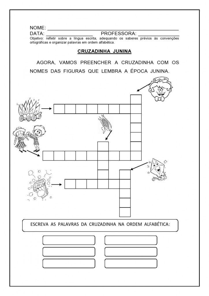 20 Atividades De Matematica E Festa Junina Atividades