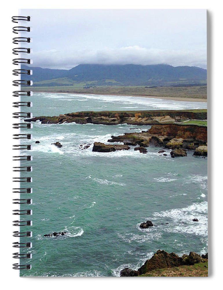 California Coastline Pacific Ocean Rocky Cliffs And Mountains Landscape Photography Spiral Notebook For Sale By Lee Ann Towle Mountain Landscape Landscape Photography Landscape