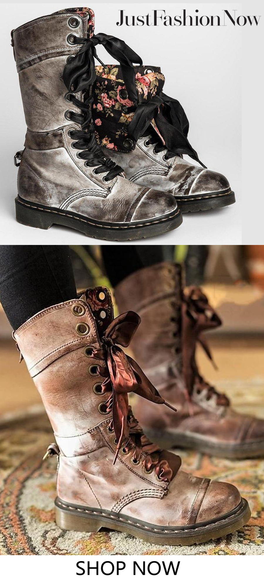 Wedding decorations vintage october 2018 Women Vintage Buckle Boots Side Zipper Round Toe Plus Size Boots in