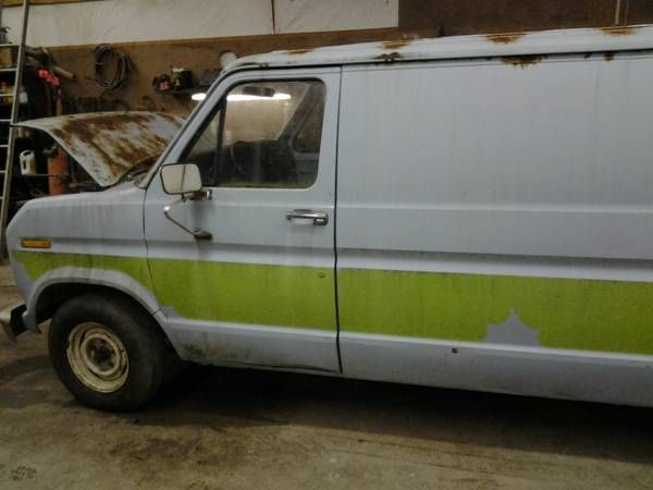 1979 Ford 100 Econoline Van Autozin Com With Images Vans
