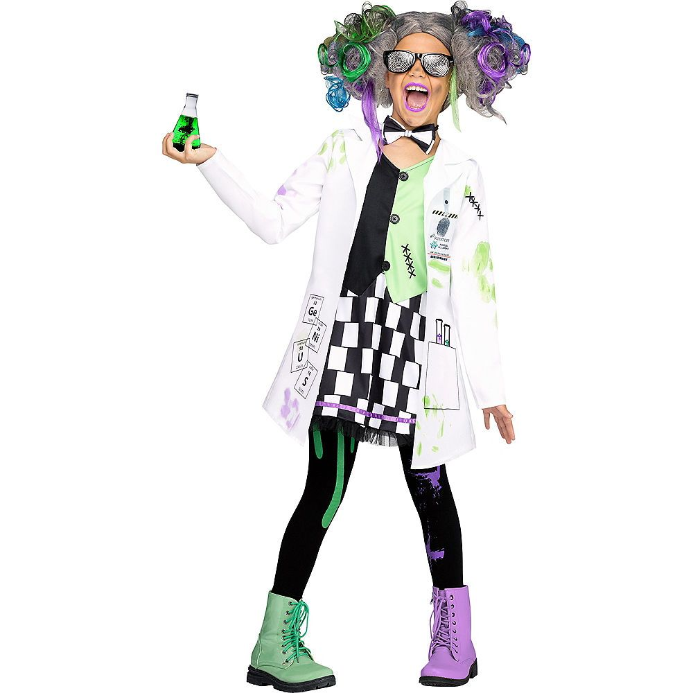 girls mad scientist costume in 2018 | for the home | pinterest