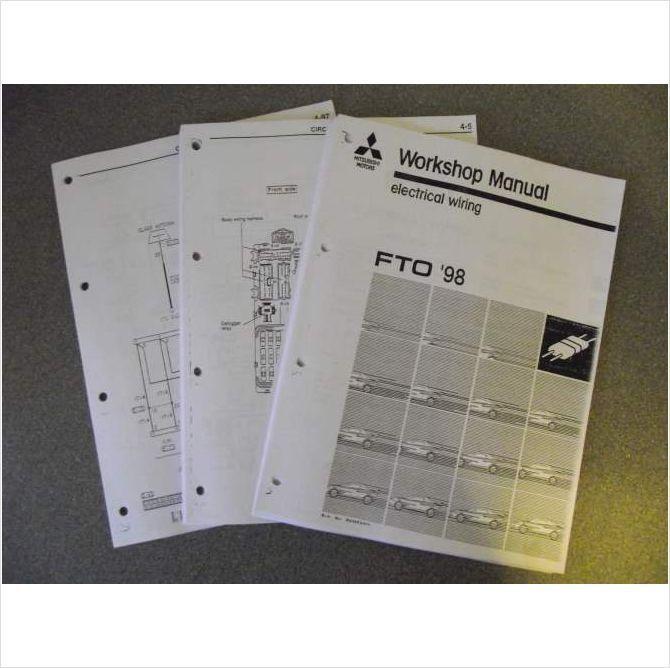 mitsubishi fto workshop manual