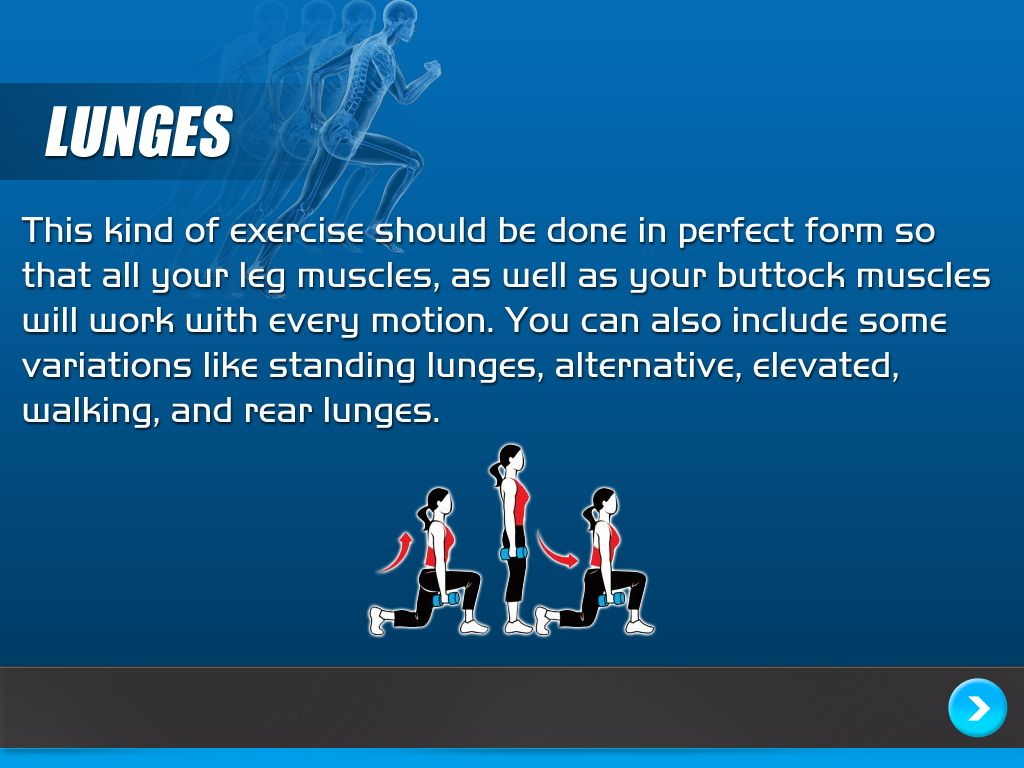 Learn how to properly do the lunge - here's how.